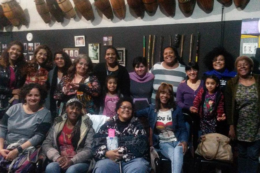 Mujeres del Movimiento Afro Argentino se capacitaron sobre violencia de género.