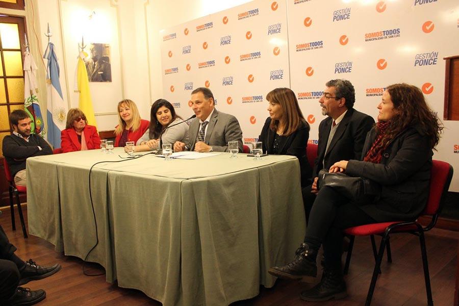 San Luis firmó el protocolo de atención a vícitimas de violencia de género.