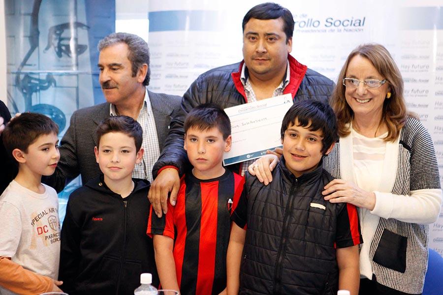 La ministra también visitó el CIC de Puerto San Julián.