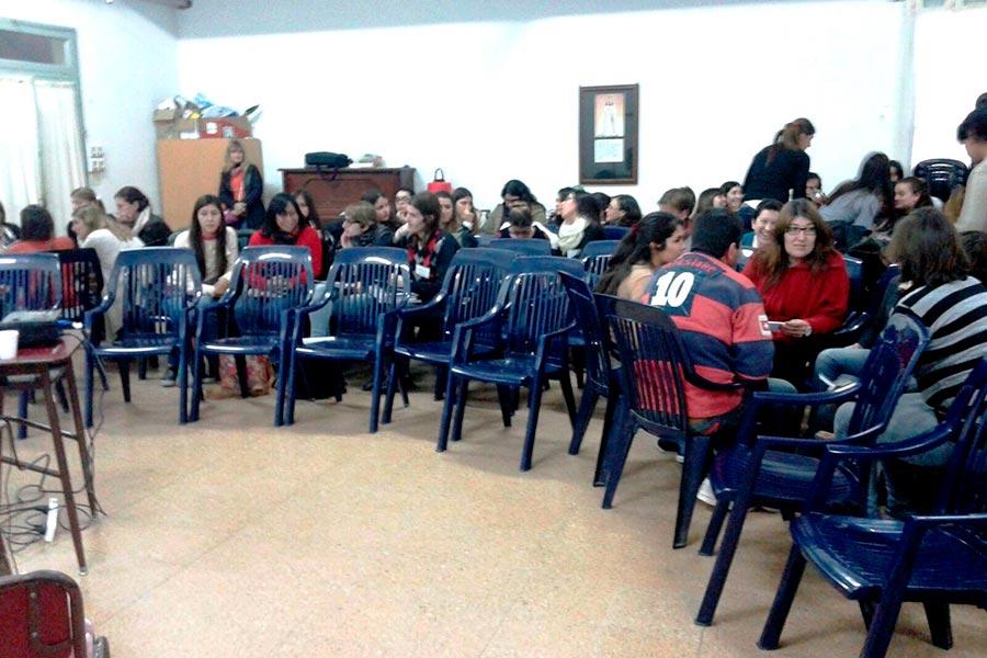 Los participantes presentaron proyectos lúdicos para trabajar con alumnos.