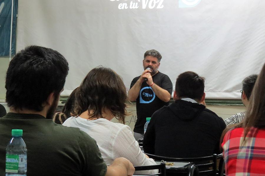 Se realizó el segundo taller de podcast en Córdoba.