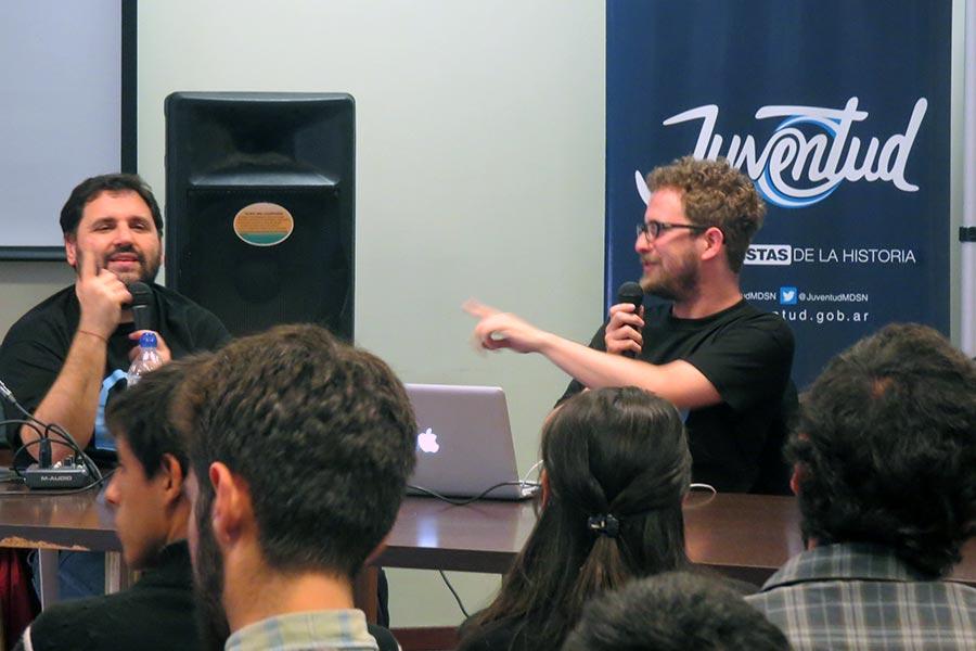 En el taller se explicaron los diferentes aspectos de la creación, grabación, edición y publicación de los podcast.