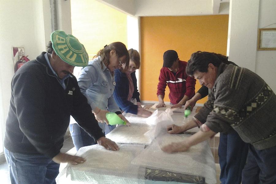 La actividad fue la semana pasada en la localidad mendocina de Malargue.