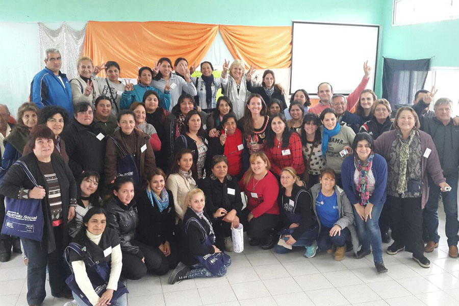 La actividad tuvo lugar en el CIC de Río Seco, en la provincia de Tucumán