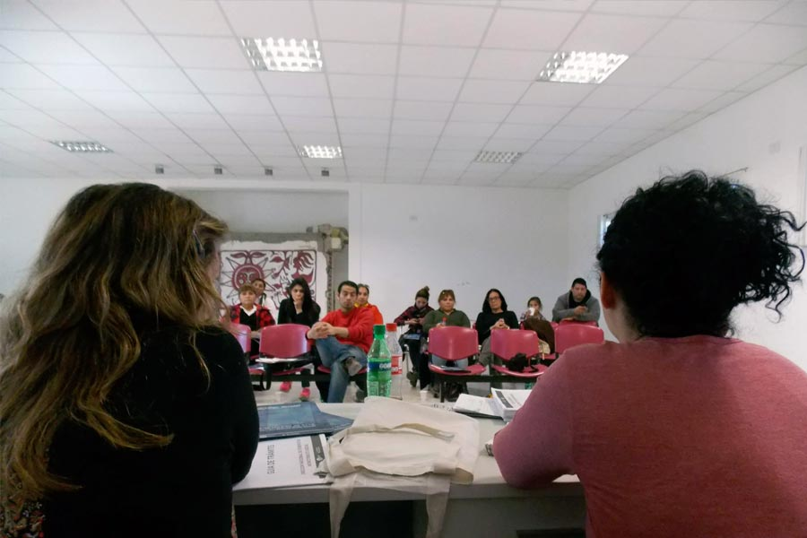 El encuentro se llevó a cabo el miércoles 16 de septiembre, a través del Centro de Referencia.