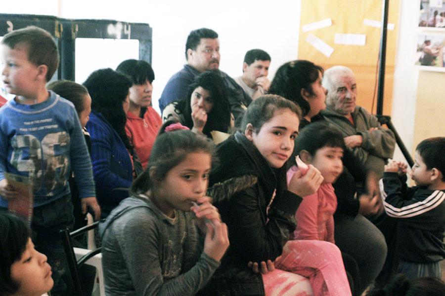 Se realizó una muestra sobre Derechos Humanos y violencia de género en Villa Zavaleta.