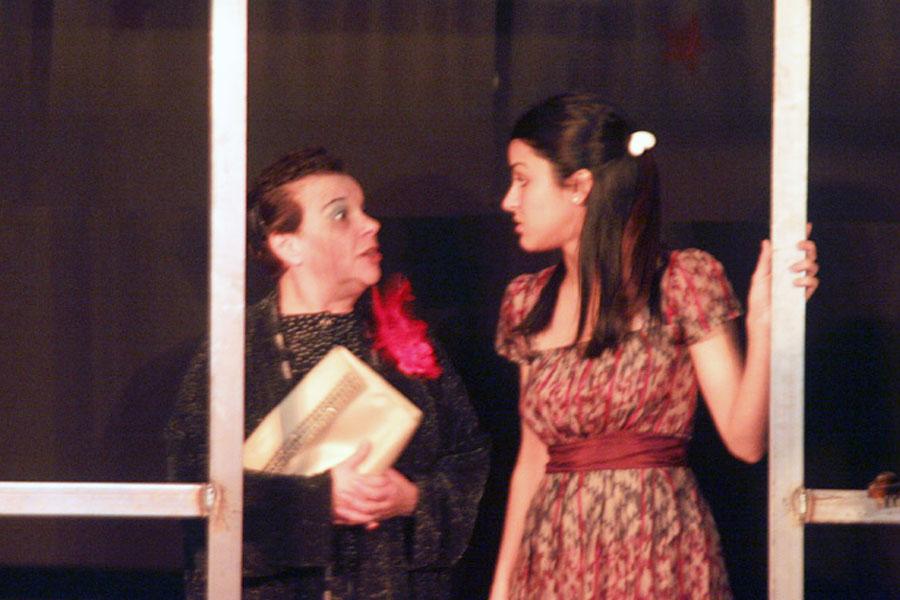 """Además, el público pudo disfrutar de la obra de teatro """"Irene Baila""""."""