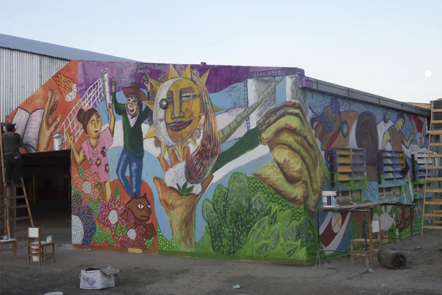 murales colectivos Chaco