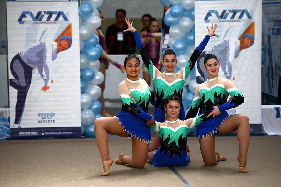 Gimnasia rítmica, otro de los deportes de los Juegos Nacionales Evita 2015.