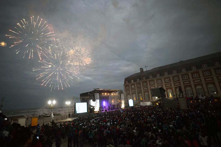 Ceremonia de apertura de los Juegos Nacionales Evita 2015.