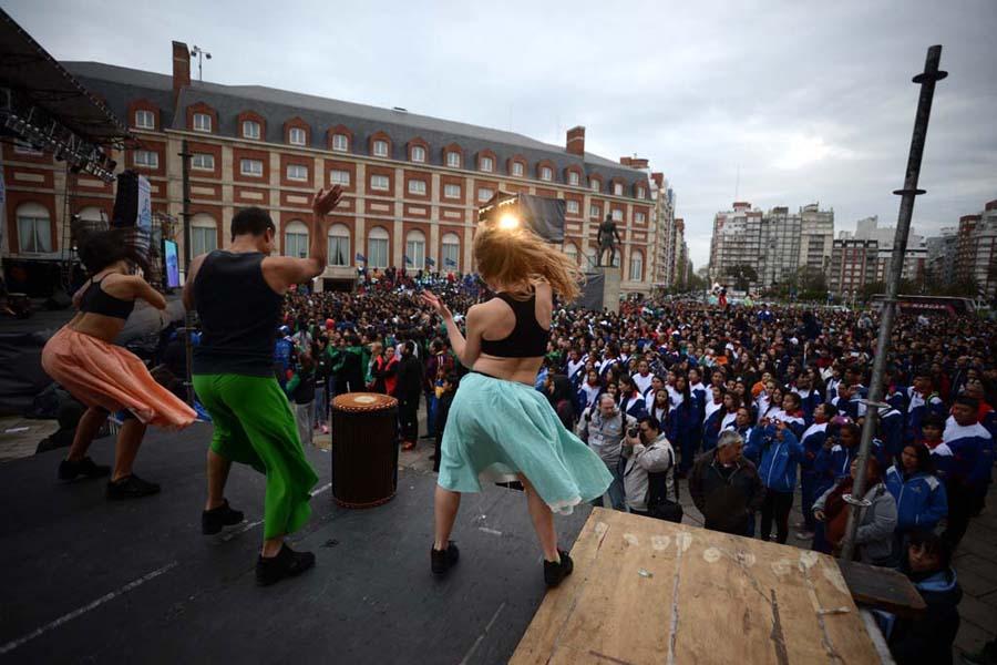 Los Juegos Evita son los certámenes deportivos más inclusivos de Latinoamérica.