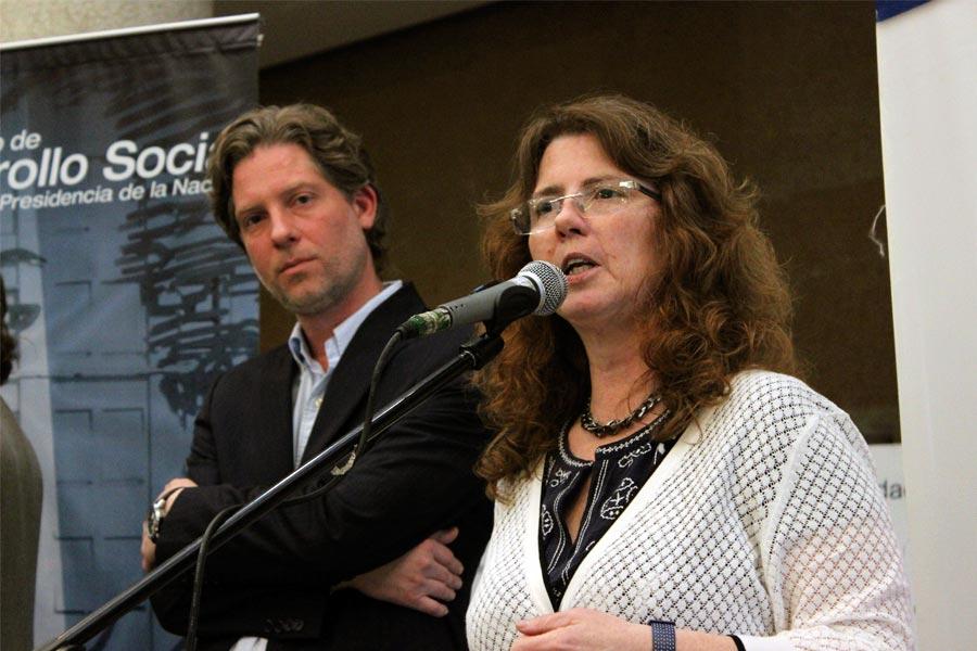 La directora Nacional de Adultos Mayores, Mónica Roqué.