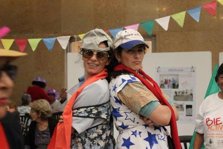 Mujeres en el cierre del programa Bien Activos