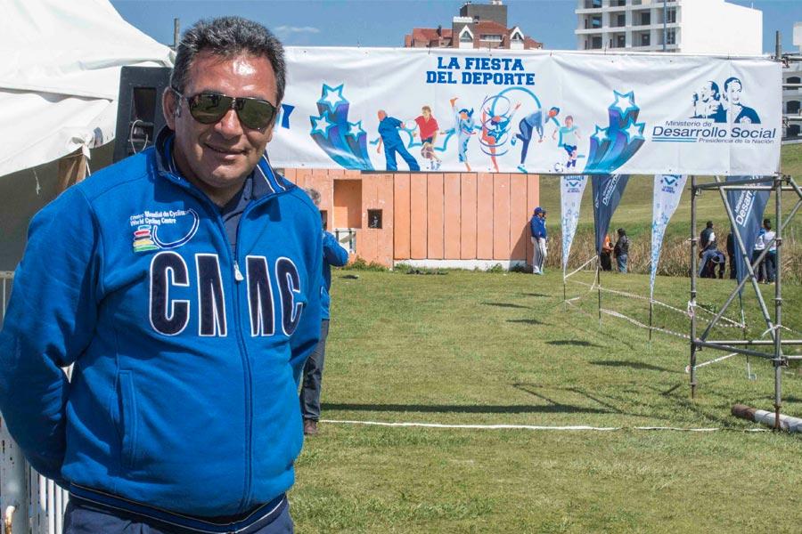 Gabriel Curuchet presidente de la Unión Ciclista de la República Argentina