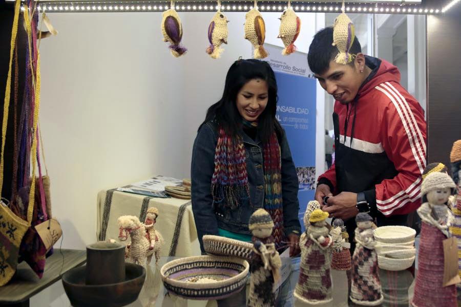 Emprendedores en la muestra del DAAS en La Plata