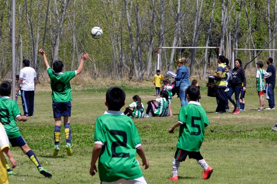 """Se lleva a cabo el torneo de fútbol infantil """"Copa Baggio""""."""