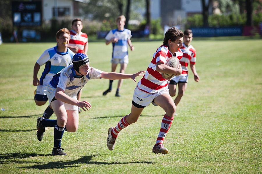 El rugby también tiene un lugar en los Juegos Evita.