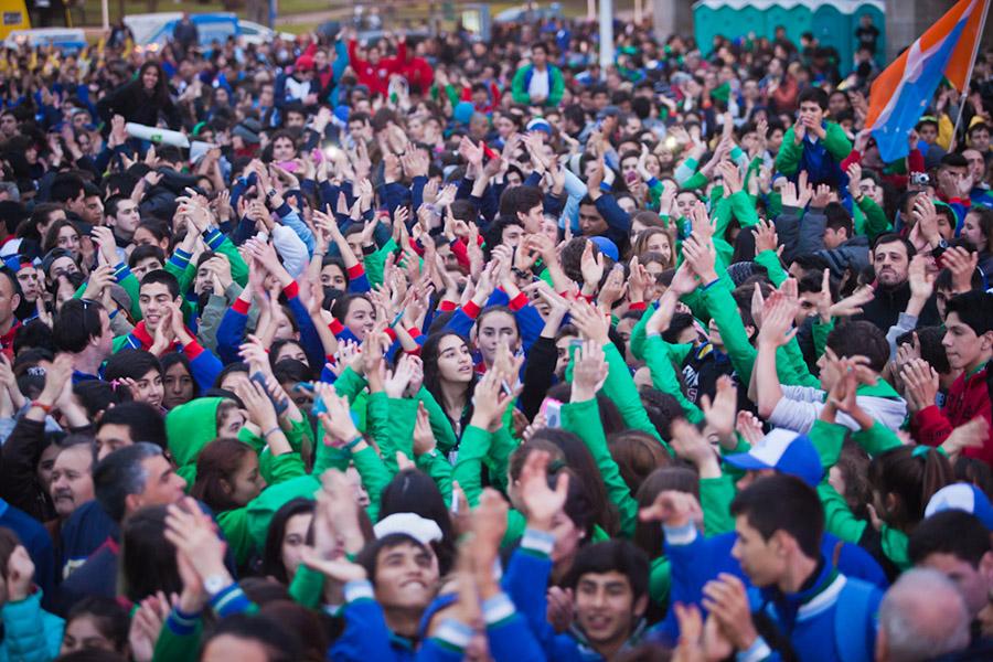Más de 18 mil personas participan de los Juegos Evita 2015.