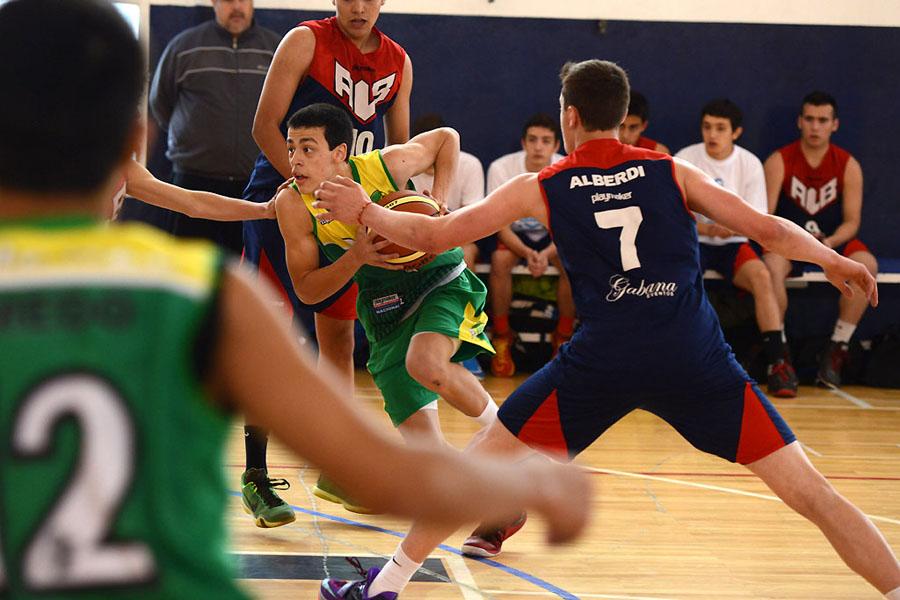 El equipo de Matías se enfrentó a uno de San Luis.