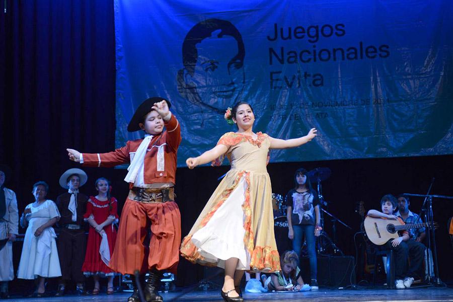Los Juegos Nacionales Evita incorporaron desde 2005 actividades artísticas y culturales.