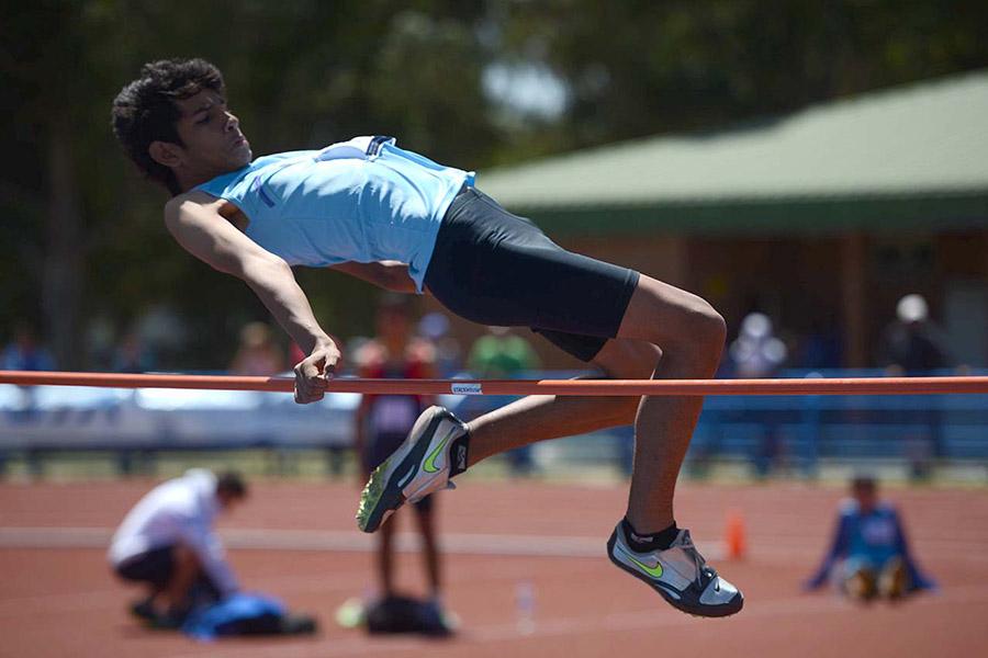 Atletismo en los Juegos Evita.
