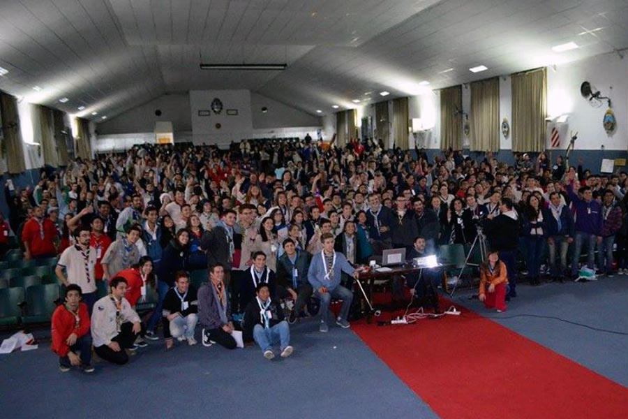 Más de 600 jóvenes de todo el país participaron del foro que tuvo lugar en Campo de Mayo.