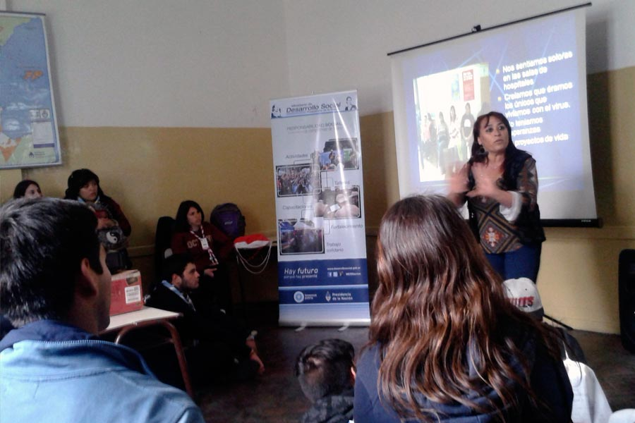 En el encuentro se realizaron talleres sobre responsabilidad social, educación sexual y prevención del maltrato.