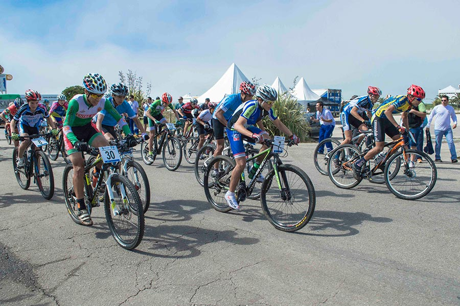 Los Juegos Nacionales Evita incorporaron al ciclismo de montaña en esta edición 2015.