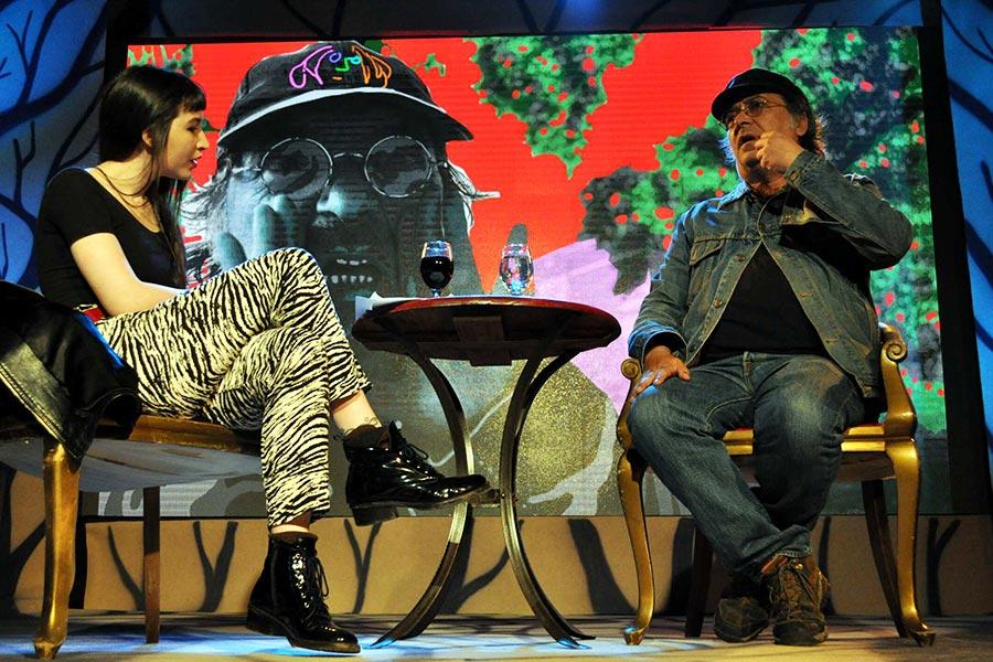 El sábado pasado Pedro Saborido participó del ciclo de entrevistas realizado en Tecnópolis.