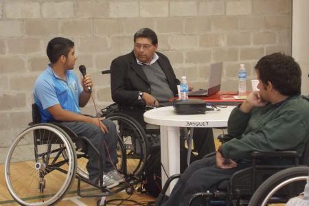 Se llevó a cabo una jornada por los derechos de las personas con discapacidad.