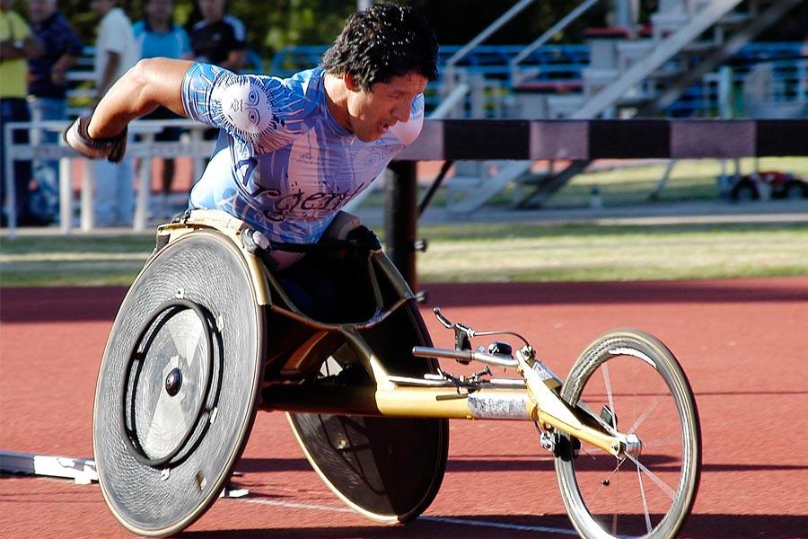 atleta con discapacidad