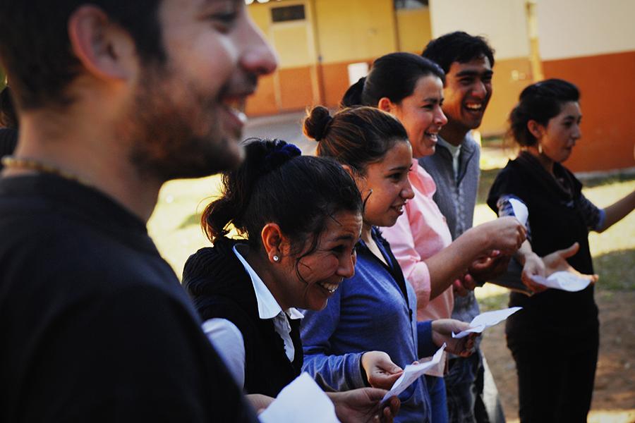 Los jóvenes además fueron protagonistas de diversos encuentros regionales de capacitación e intercambio.