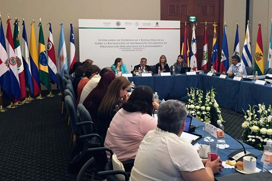Reunión del comité de discapacidad de la OEA en México.