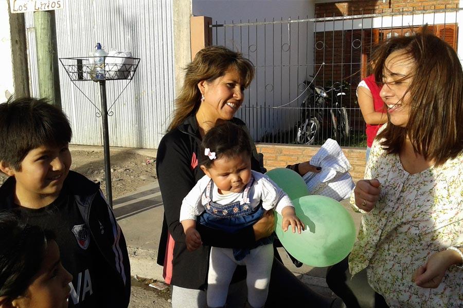 """""""Caminar para crecer"""" es una asociación civíl de la localidad jujeña de Monterrico."""