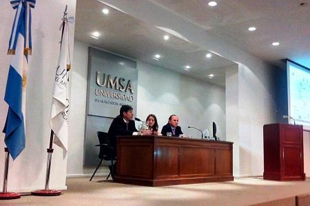 """Se realizó ayer la primera jornada del ciclo de conferencias """"Derecho Penal y Violencia contra las Mujeres: Avances y Desafíos""""."""