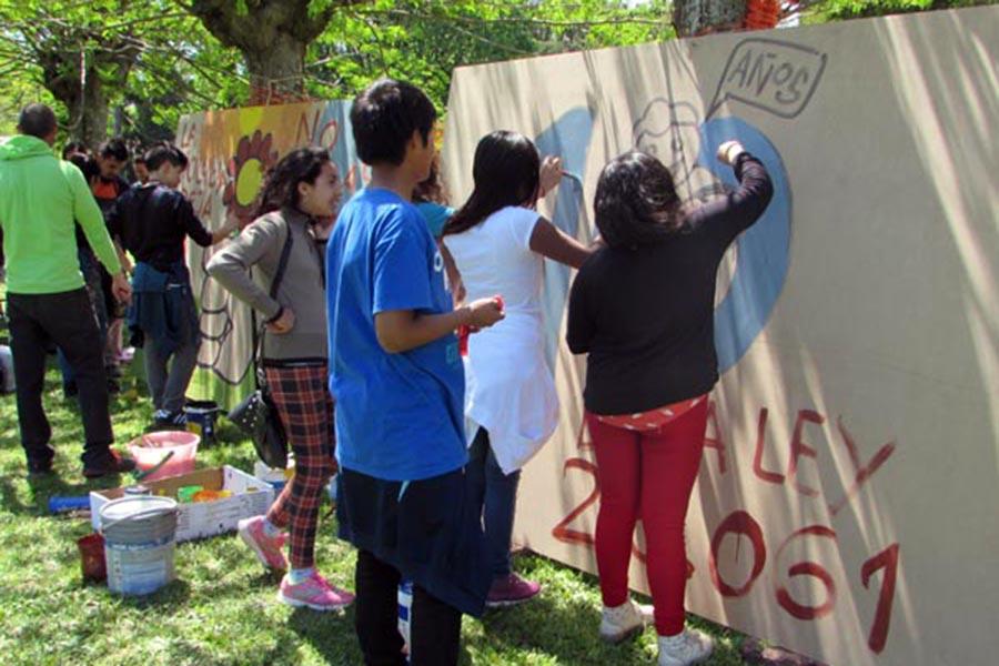 La iniciativa se realizó para promover el buentrato, el diálogo y la palabra en un entorno de amor, respeto y de protección de derechos.