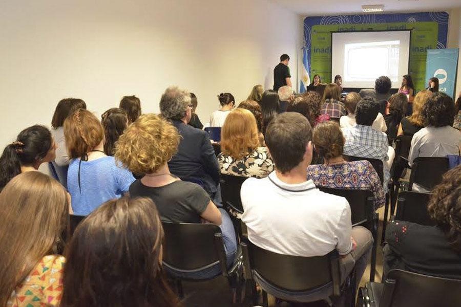 La presentación fue el miércoles pasado en el INADI.