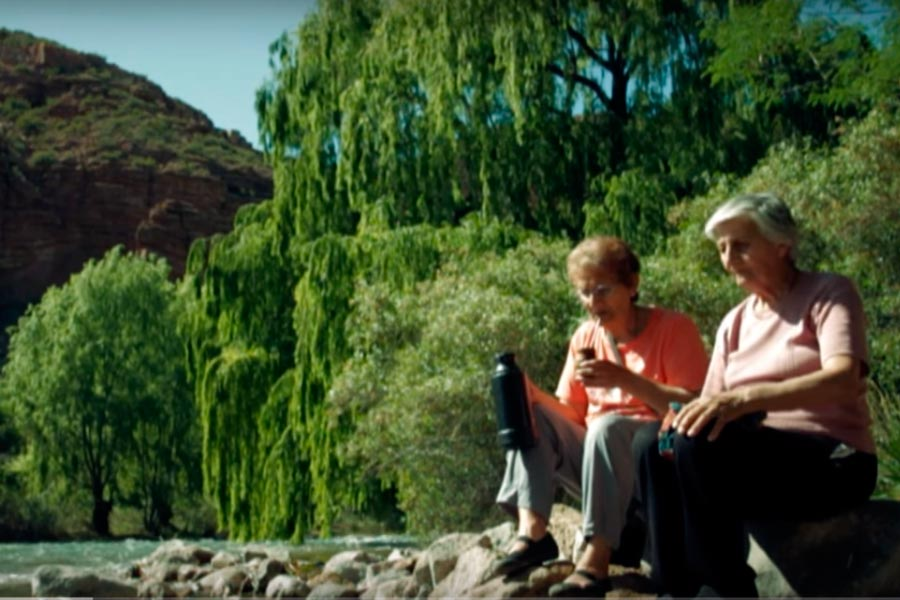 Pobladores de la serie La Casa del Pueblo de San Rafael, Mendoza.