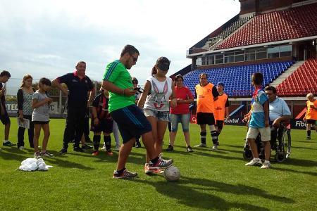 Las familias podrán practicar deportes adaptados.