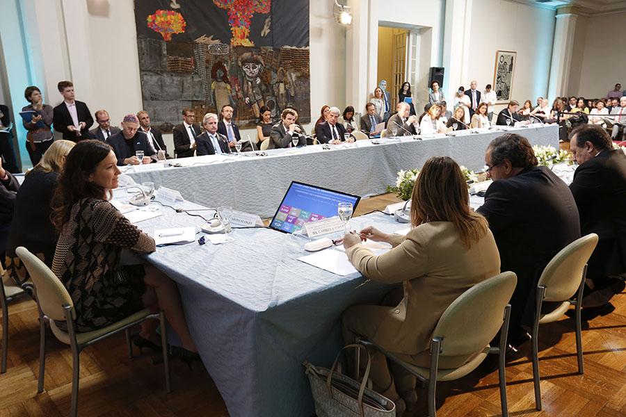 El gabinete nacional ratifica su compromiso con el objetivo de lograr la pobreza cero.