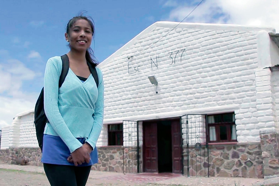 Natalia es profesora y vive en Jujuy.
