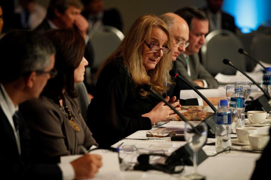 Alicia Kirchner en la Cumbre Social del Mercosur en Mendoza