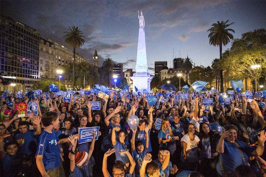 Más de 16.000 personas participaron del acto central en Plaza de Mayo.