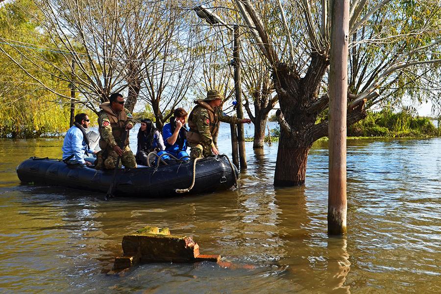 Los equipos técnicos ya recorrieron Ceibas, Mazaruca, General San Martín, Médanos, Puerto de Ibicuy, Ñacay y Villa Paranacito.