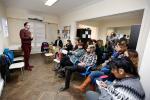 Los talleres son destinados a trabajadores, docentes, médicos, personal policial e integrantes de organizaciones.