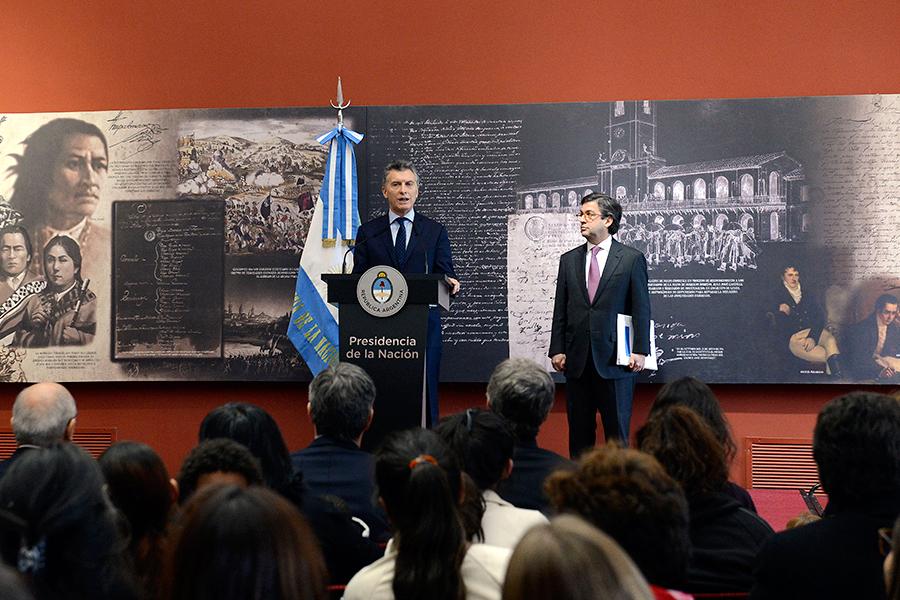 El Presidente Mauricio Macri destacó la importancia de trabajar en estimulación temprana.