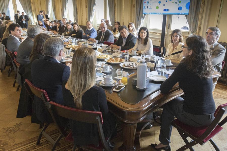 Imagen del encuentro de ministros