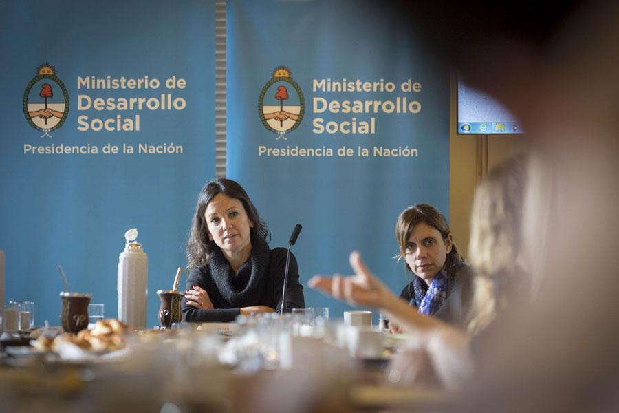 Imagen de Carolina Stanley en el consejo de ministros