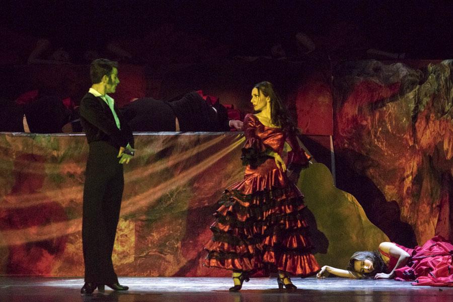 La Compañía se presentará con las obras Cármen y Bolero.