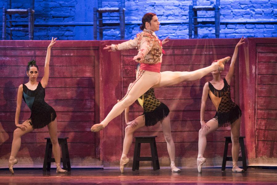 El Ballet de Danza comienza su gira por el Noroeste.